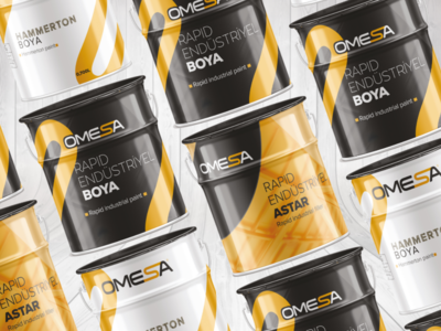 Omesa Paint Package Design