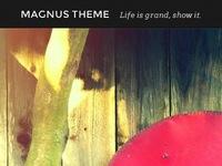 Magnus Theme (sneak-peak)