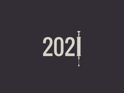 2021 year vakcine logo