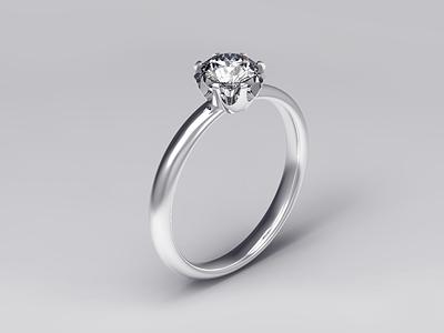 Diamond ring 3ddesign 3d artist 3d art 3d whitegold gold diamond ring