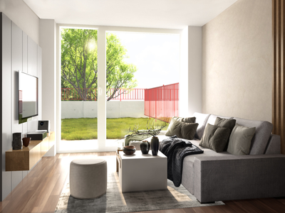 Room - light and clean render visualisation vray 3d interior