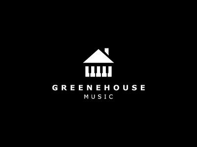 MusicHouse recording house music logo