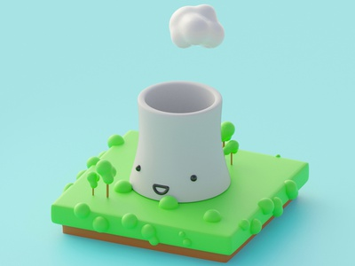 Thermo Nuclear Cutie 3d modeling 3d animation 3d