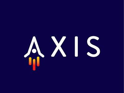 AXIS logo design concept logo design brand dailylogochallenge logo