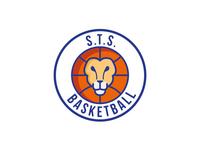 STS BASKETBALL Logo Design