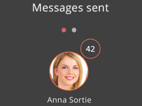 Messages sent icon