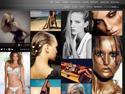 Model Management International Website