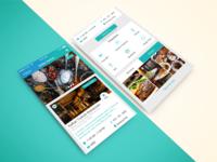 Restaurant App Design Mobile UI