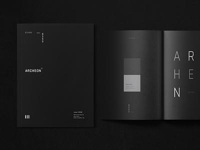 Architecture Portfolio black interior design brochure design architecture portfolio architect handmade book indesign showcase portfolio