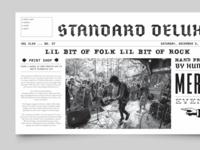 Standard Deluxe Website Redesign