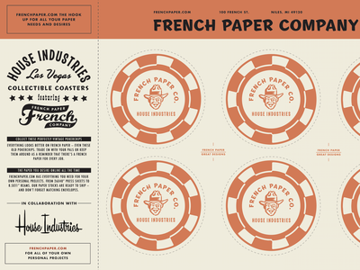 French Paper Co & House Industries Promotional