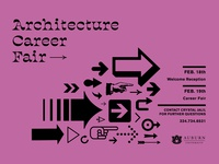 Architecture Career : Fair Save the Date