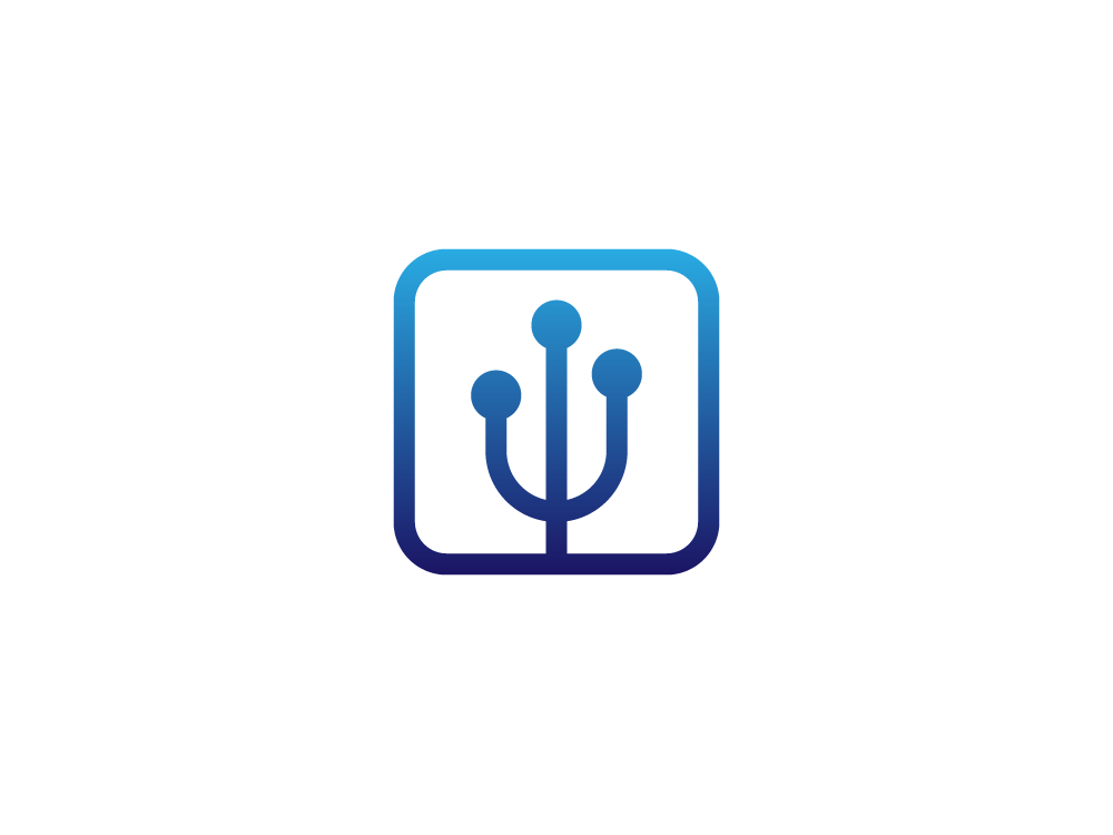 Trident Networking Logo By Ben Gillette On Dribbble