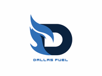 Dallas Fuel logo redesign