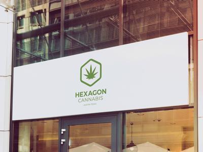 Hexagon Cannabis logo mark
