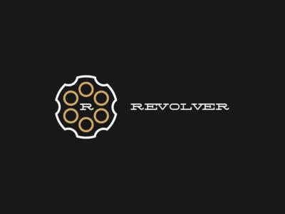 Revolver logo concept
