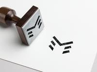 M letter mark