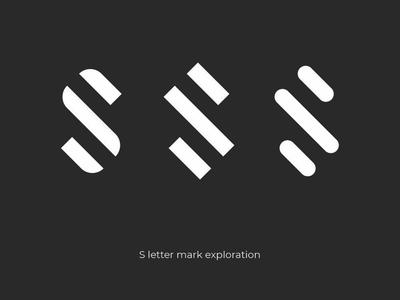 S letter mark exploration