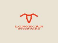 Longhorn Stockyard logo mark + type