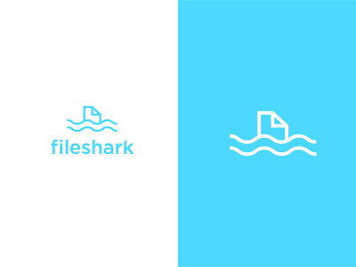 fileshark Logo icon + type