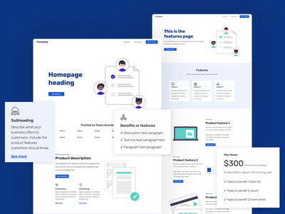 Renaissance Template - Free cloneable on Webflow landing page product page webflow startup marketing responsive cards features freebies template startup