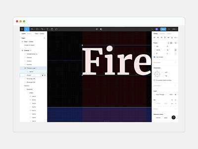 Firebean Figma Design webflow website design animations design figma branding brand design studio business website launch firebean