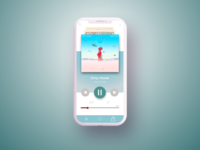 Daily UI Challenge #009 Music Player