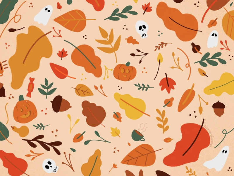 Autumn Wallpaper illustration