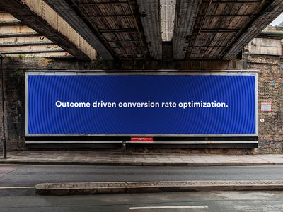 Outcome driven conversion rate optimization.