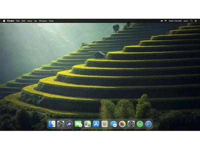 macOS subtle redesign website xd design catalina macosx macos redesign mac