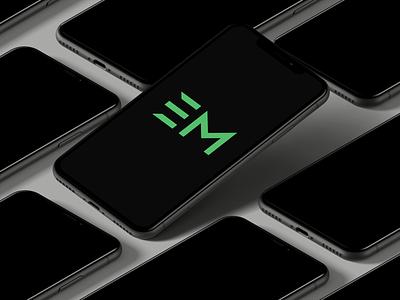 Logo designed for EM(The Menu App)
