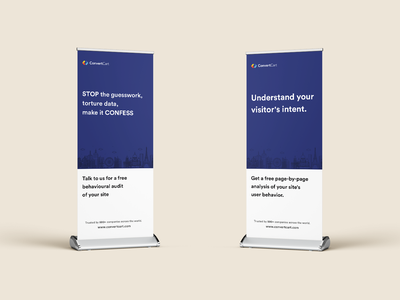 Roll Up Standee design ecommerce irce branding india designs meetup meeting conference convention usa event marketing b2b marketing b2b sales b2b design standee rollup banner rollup