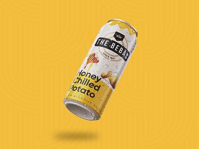The Bebas warmup design india beer vector packagedesign packaging label packaging labeldesign label can branding design branding cola graphicdesign dribbbleweeklywarmup beverage design beverage