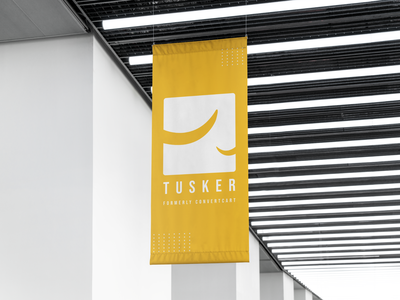 Tusker india vector illustration brand identity branding ecommerce b2b tusker logotype logodesign logo