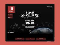 Landing Page! Super Smash Bros Ultimate - Day 003