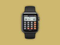 Casio X Apple Calculator Watch - Day 004