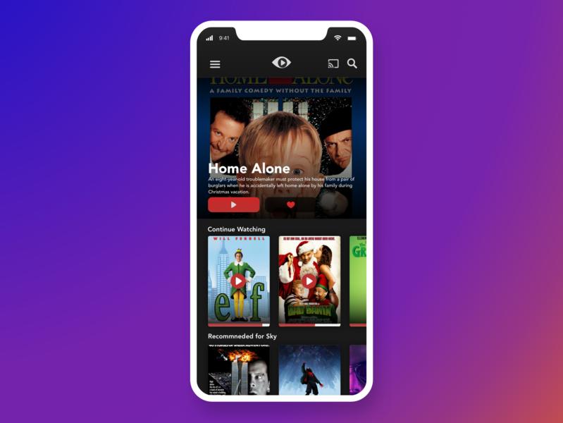Mobile TV App •Day 025 web mobile uxui app flat dailyinspiration branding inspiration prototype vector userexperience ux ui mobiledesign minimal digitaldesign creative interface design dailyui
