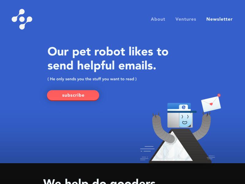 Subscribe •Pet Email Robot •Day 026 sketchapp dailyinspiration interface web typography branding flat design uxui vector inspiration prototype userexperience minimal creative logo illustration digitaldesign ui dailyui