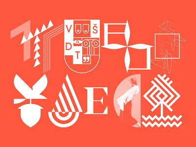 LOGO COLLECTION VOL. 1 wordmark symbol design identity minimal logotype logo typography brand branding