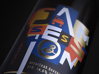 Limited Edition Beer Jam Session Label Design