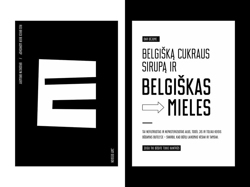 Limited Edition Beer Jam Session Label Design infographic design typeface beer label beer packaging beer typography poster