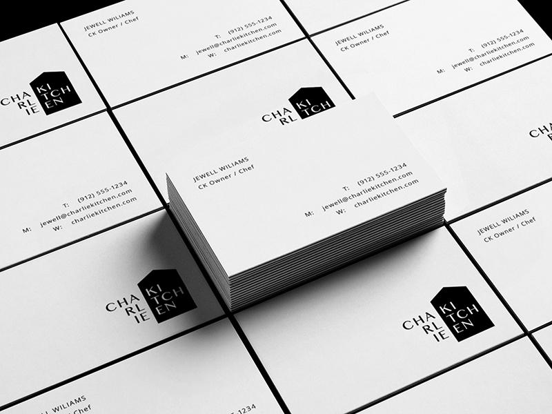 CHARLIE KITCHEN design wordmark mark type monogram symbol identity minimal logotype logo typography brand branding