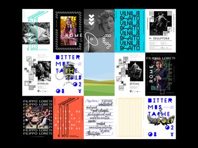2019 POSTERS print design print typography graphic design graphic poster collection poster posters