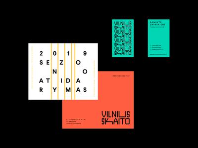 Vilnius Skaito / Vilnius Reads Branding vilnius book reading mark design wordmark identity minimal logotype logo typography brand branding
