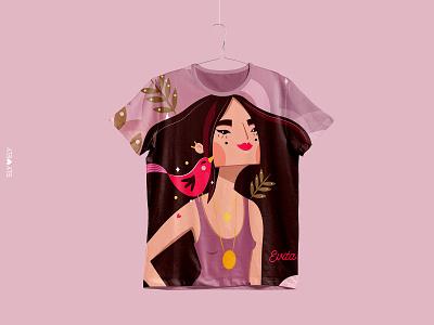 Fundación Evita illustration character design branding design