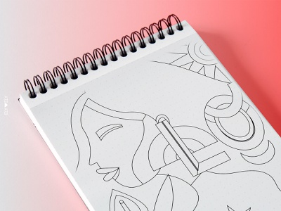 Loveblood agency social media illustrator illustration