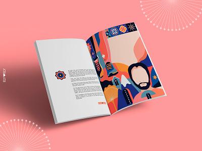 Ink Global editorial design magazine illsutrator illsutration