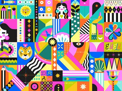 Visual Identity - Ely Ely Ilustra graphic design identity branding illustration