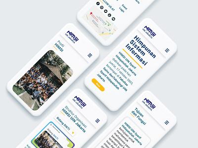 HIMSI Landing Page - Mobile Version webdesign landingpage mobileversion mobile website web ui design uidesign ux ui