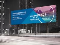 Global Peace Film Festival Billboard